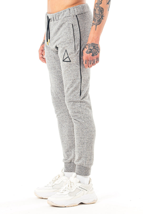 Golden Equation Moscow Skinny Fit Melange Men's Joggers -  Grey from Golden Equation