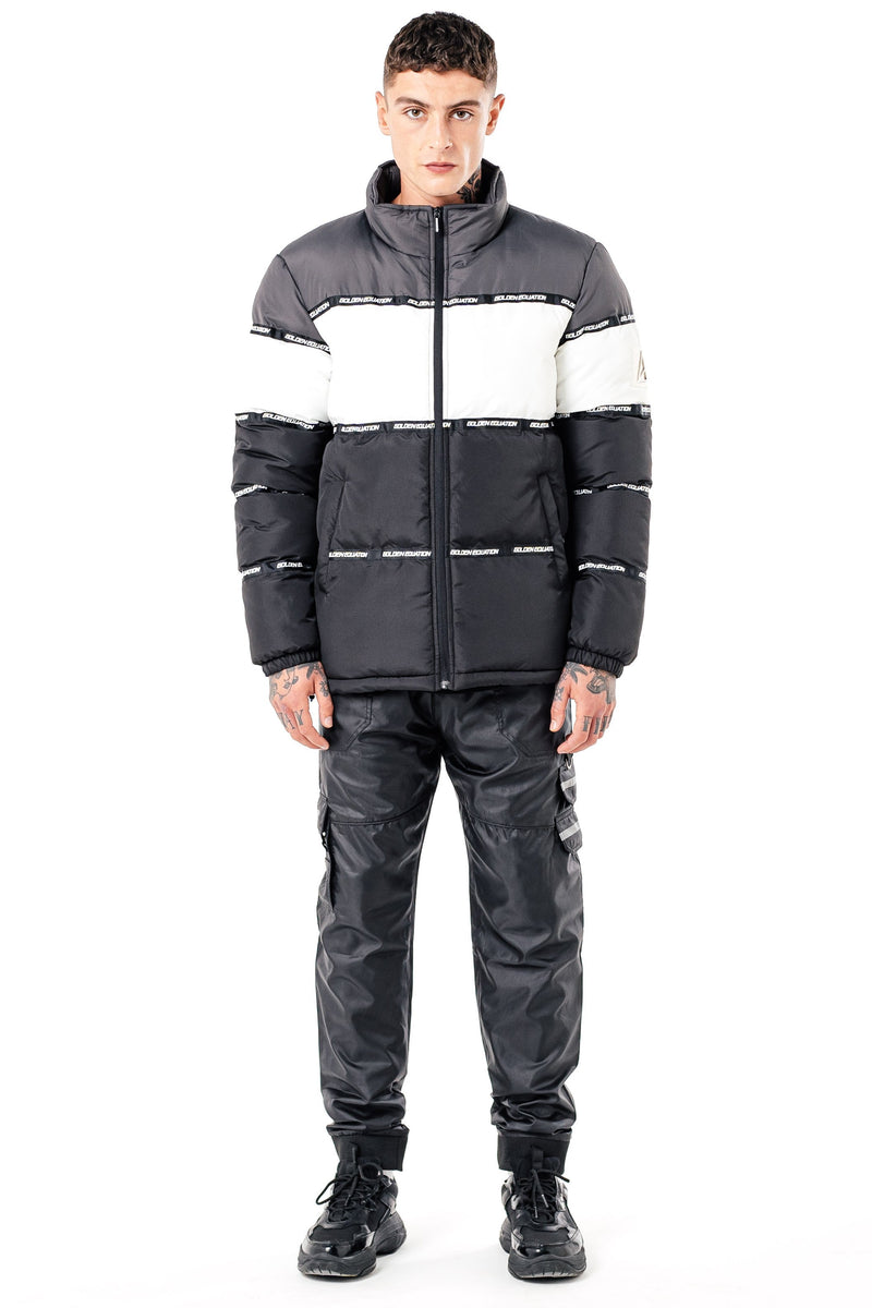 Golden Equation Nemesis Men's Puffer Jacket - Charcoal from Golden Equation