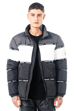 Mens Nemesis Puffer Jacket - Charcoal from Golden Equation