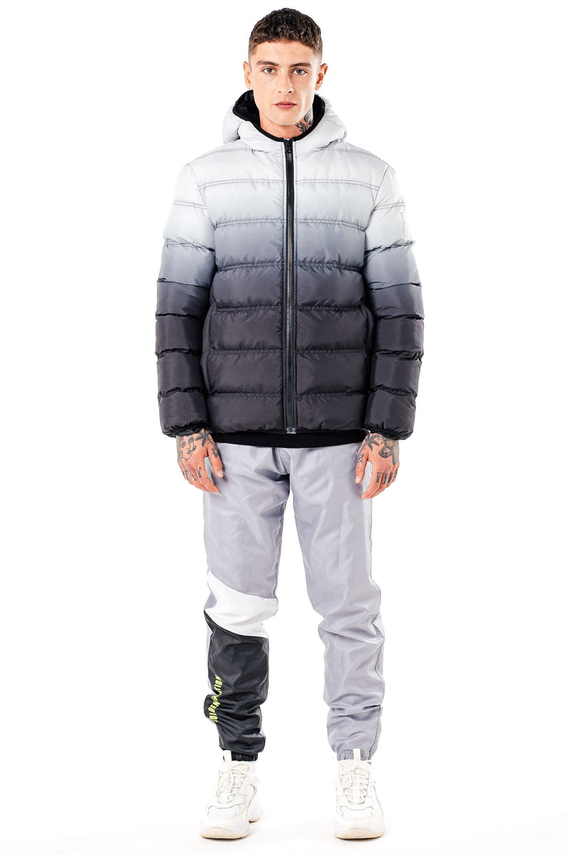 Golden Equation Niwaz Men's Puffer Jacket - White/Black from Golden Equation