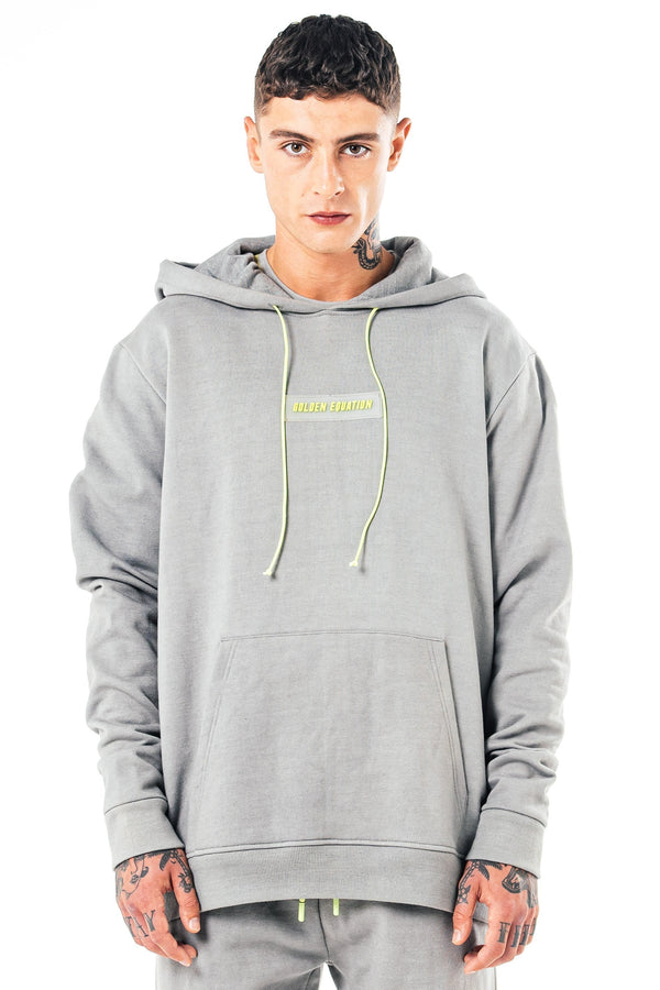 Golden Equation Parma Oversized Men's Hoodie - Grey from Golden Equation