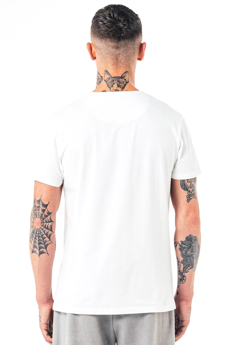 Golden Equation Perez Panel Men's T-Shirt - White from Golden Equation