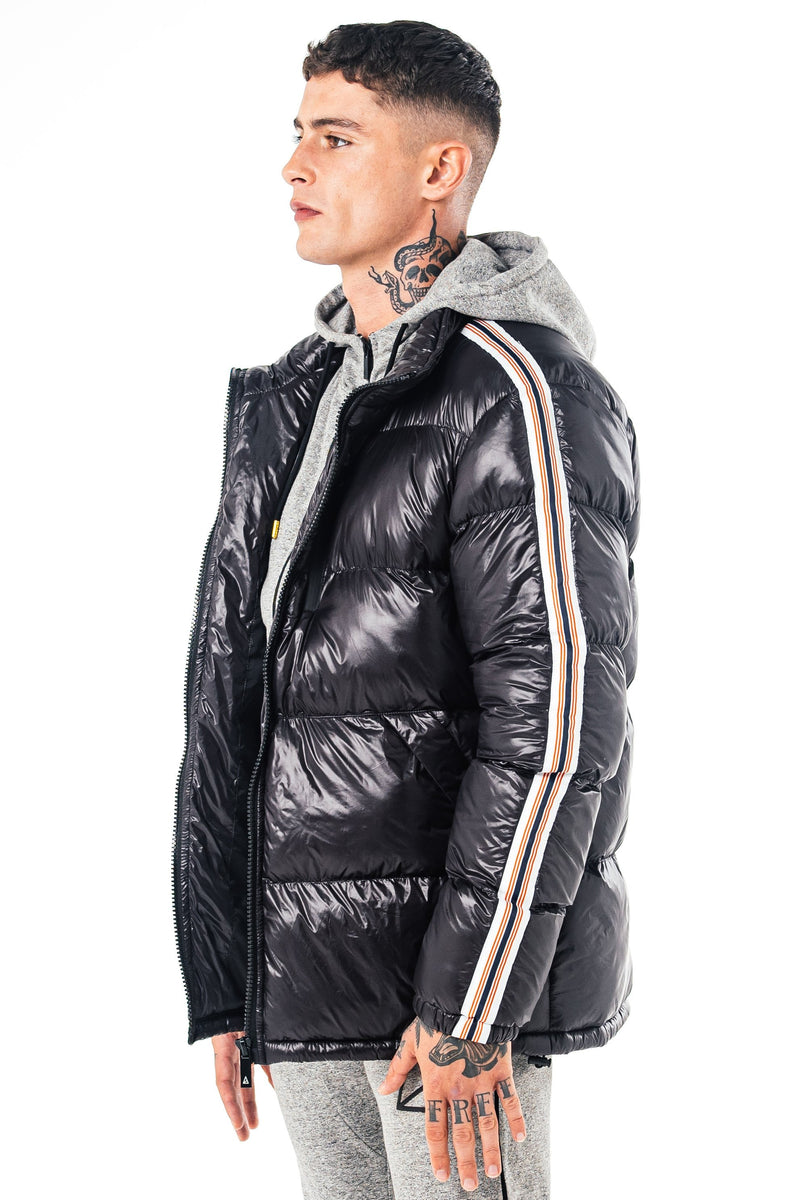Golden Equation Phoenix Men's Puffer Jacket - Black from Golden Equation