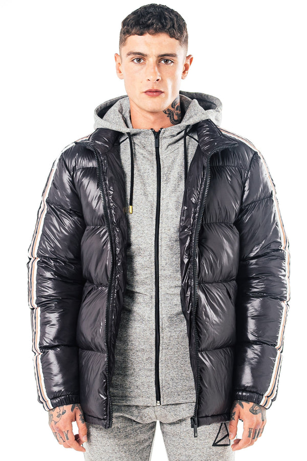 Mens Mens Phoenix Puffer Jacket - Black (Coats & Jackets) - Golden Equation