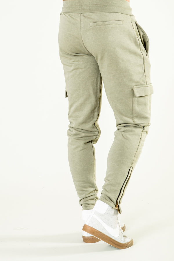 Golden Equation Seville Skinny Fit Utility Men's Joggers - Green from Golden Equation