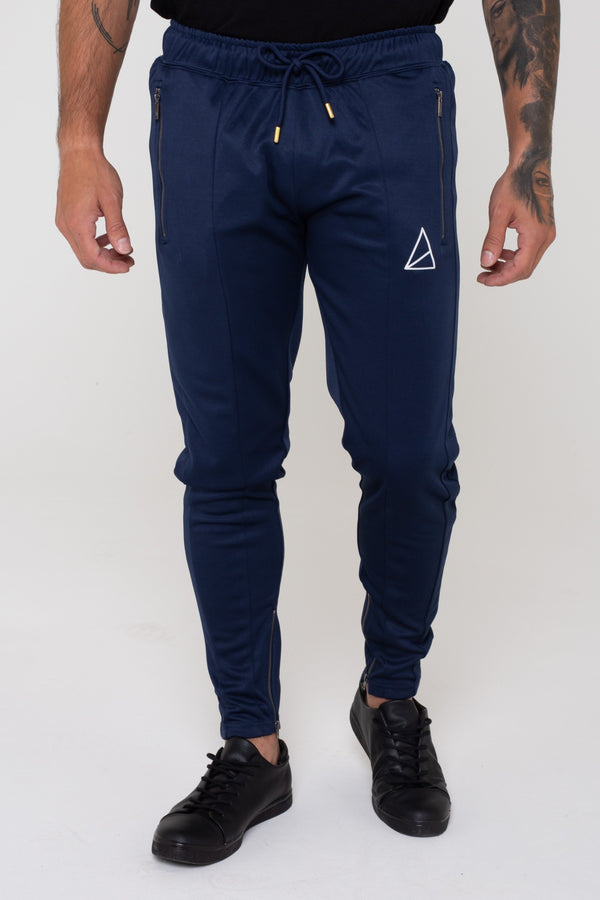 Mens Mens Summit Tapered Joggers -  Navy (Joggers) - Golden Equation