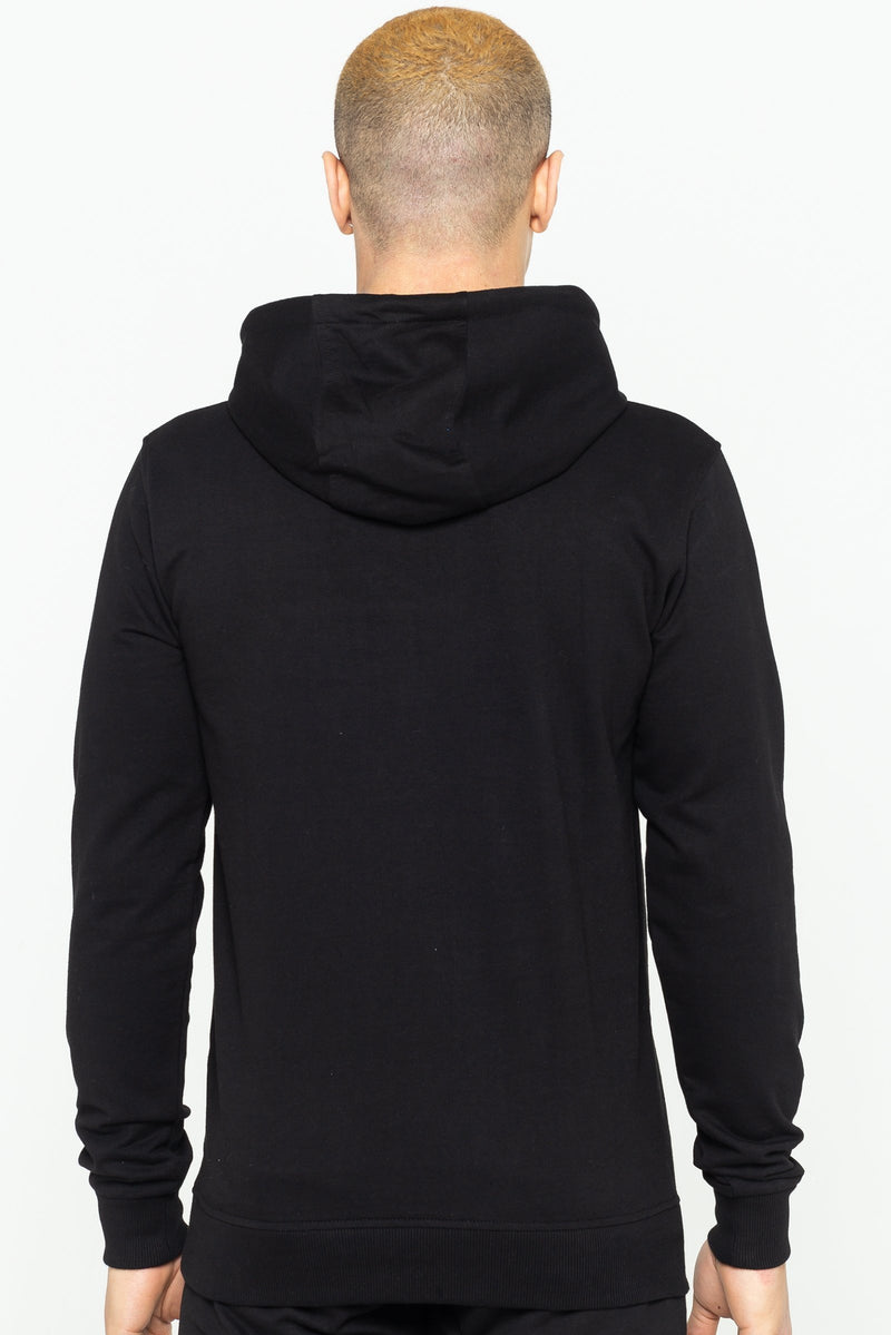 Golden Equation Trinity Logo Hooded Men's Sweatshirt - Black from Golden Equation