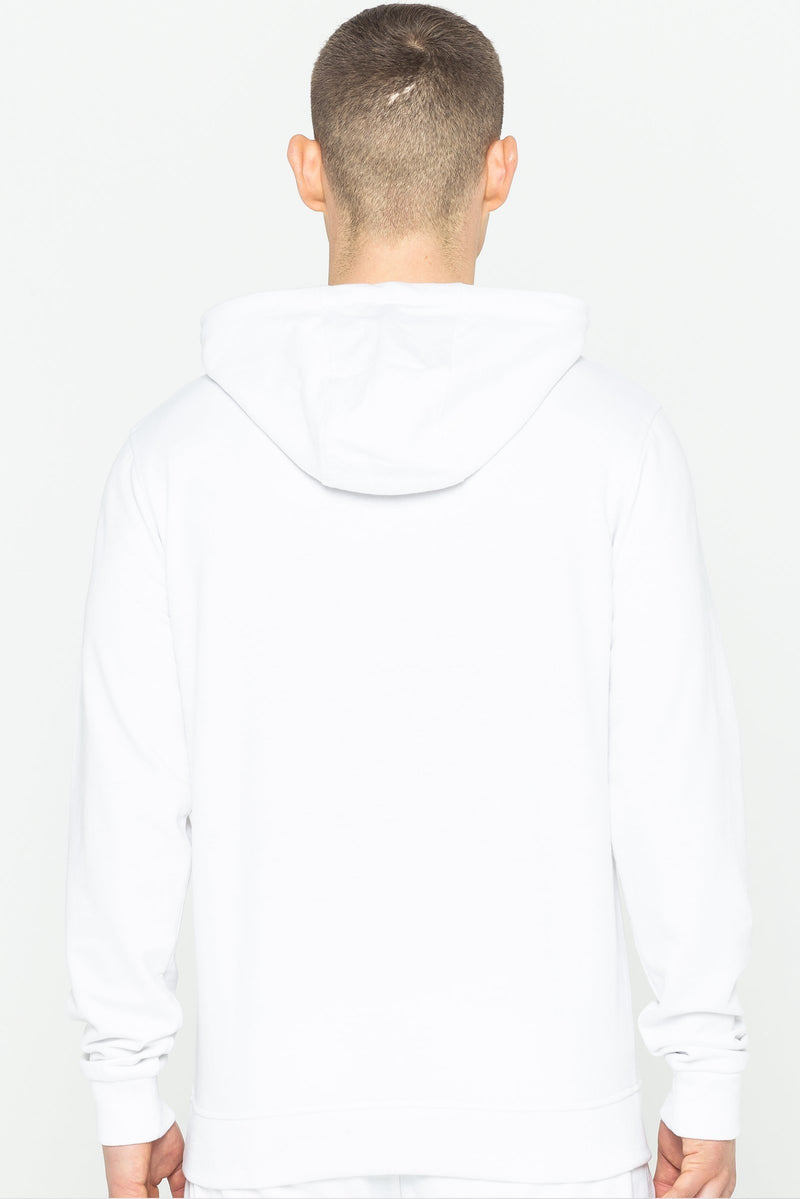 Trinity Logo Hooded Men's Sweatshirt - White from Golden Equation
