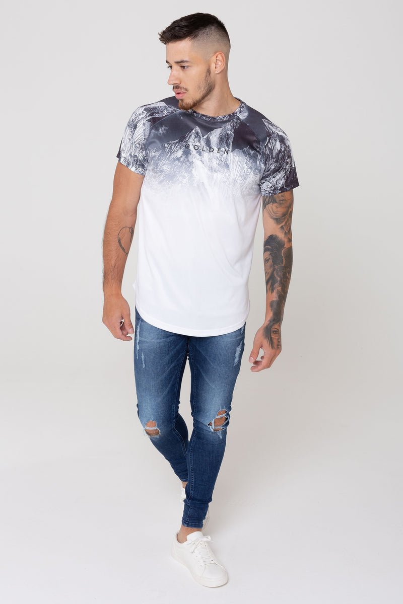 Nebula Landscape Print Tee from Golden Equation