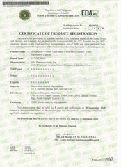 Luxxe Certificate of Product Registration