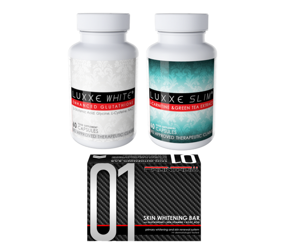 Luxxe White and Luxxe Slim Bundle Pack