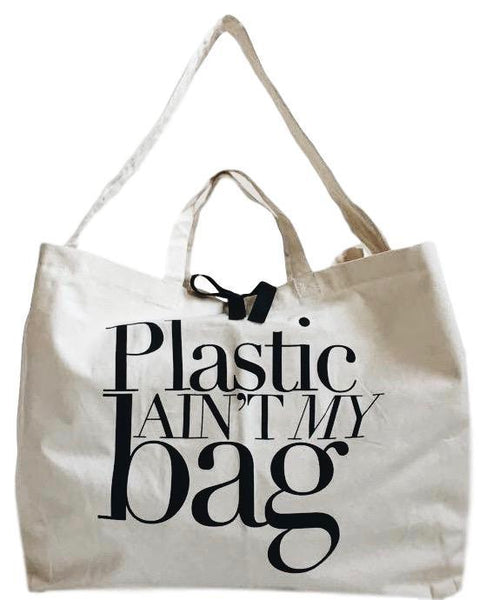 Plastic sure ain't our bag!