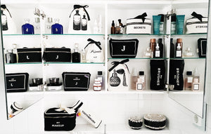 Organize your bathroom with Bag-alls boxes and cases, beauty boxes, toothbrush case, brushes case, medical box, makeup bag