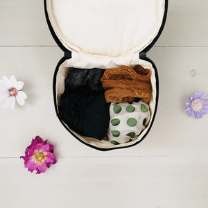 Round Lingerie Case - Bag-all Australia