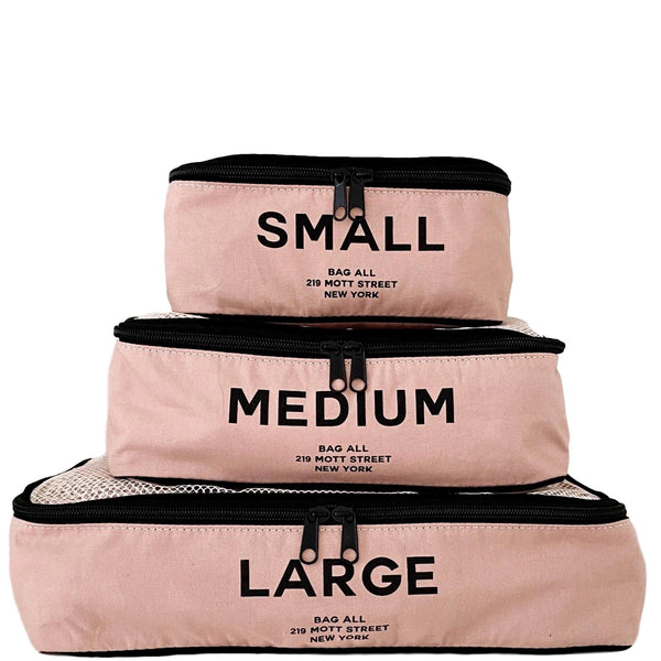 Packing Cubes Pink - bag-all-australia
