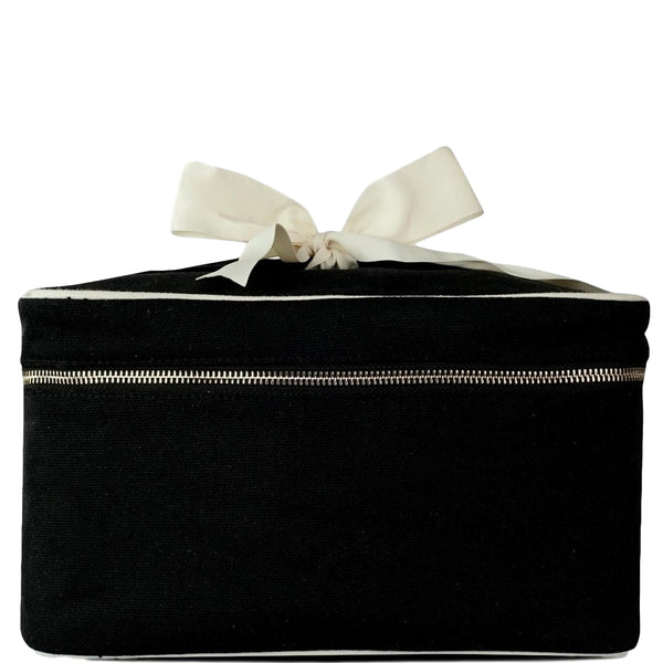 Blank Beauty Box Large Black
