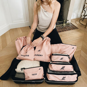 BA Traveler Organizing Bags Pink Blush 4-pack, 1 - Bag-all Australia