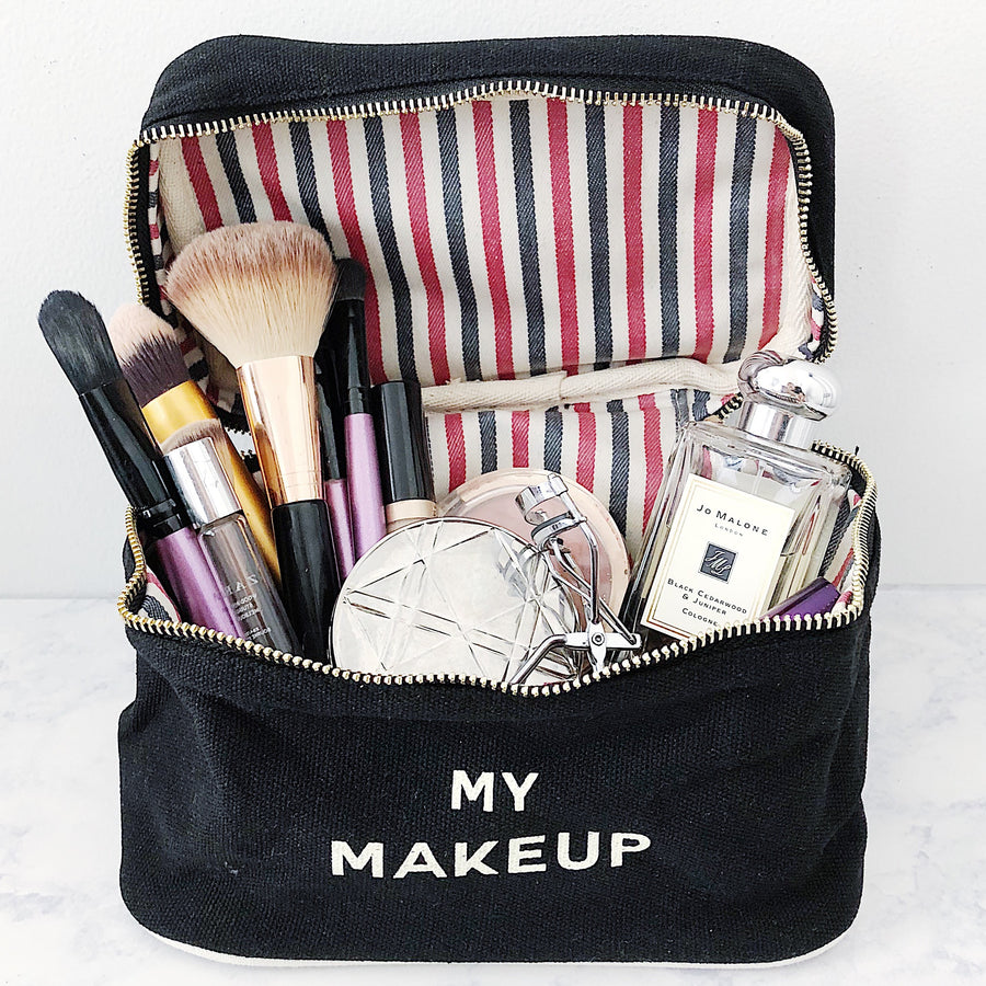 Make up Box Black - bag-all-australia
