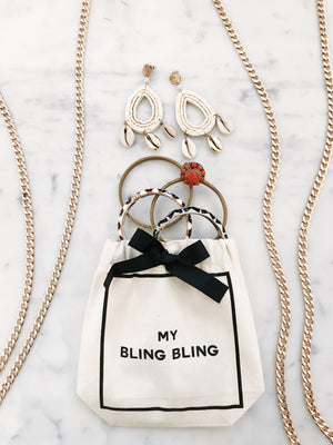 jewelry bag bling bling