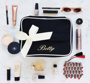 Beauty Box Large Black - bag-all-australia