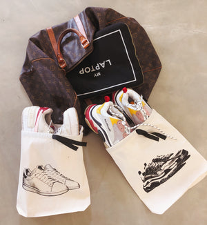 Dad Sneaker Shoe Bag