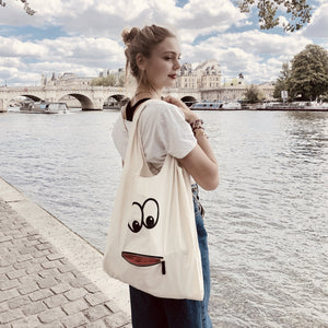 Googly Eyes Tote Bag - bag-all-australia