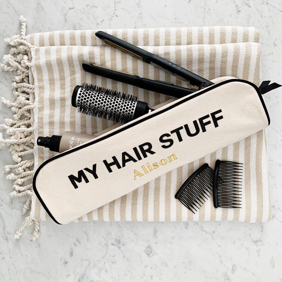 hair stuff case, Hair tool case