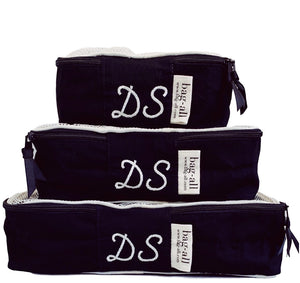 Packing Cubes Black - bag-all-australia