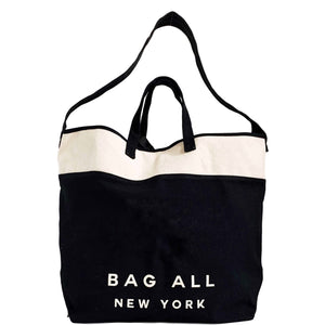 Nolita Cross Body Tote Bag - Black - bag-all-australia