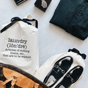 Phonetic Laundry Bag, loafers shoe bag