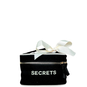 Beauty Box Mini Secrets Black - Bag-all Australia