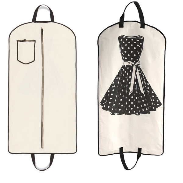 Polkadot Garment Bag - Bag-all Australia