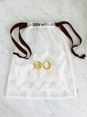 Lace Bag - Large White - bag-all-australia