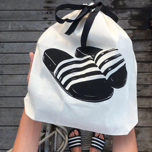 Slides shoe bag