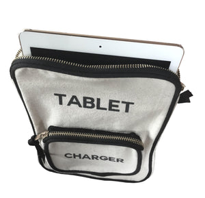 Tablet - Comes with One Charger Pocket