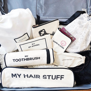 hair stuff case, key bag, Toothbrush case