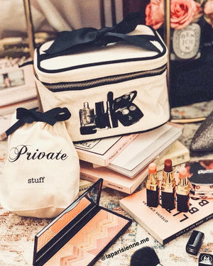 Private stuff organizing bag, beauty box small