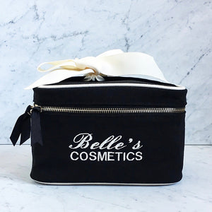 Blank Beauty Box Small Black