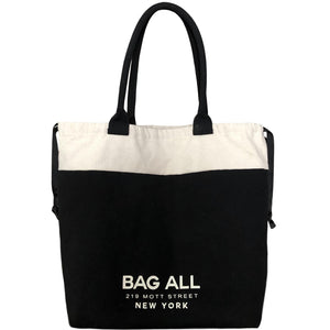 World Traveler Tote Bag Black - bag-all-australia