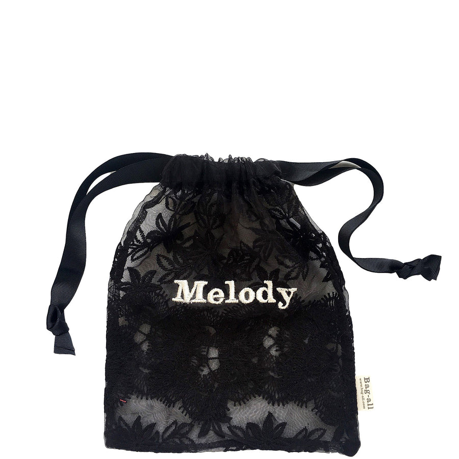 Lace Bag - Large Black - bag-all-australia