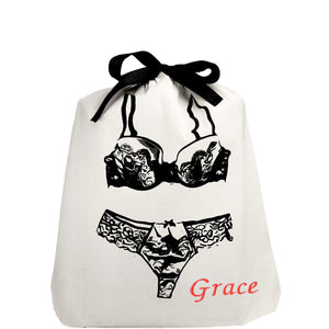 Lace Lingerie Bag - bag-all-australia