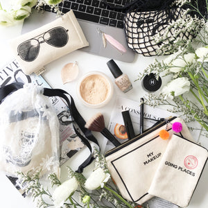 Makeup case, Sunglasses case, Passport Holder