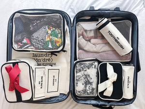 Packing cubes, toothbrush case, pencil case, Jewelry Case