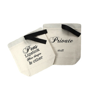 Purse Organizer 2-pack - Cute Organizing Bags
