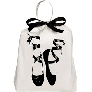 Pointe Ballerina Shoe Bag - bag-all-australia