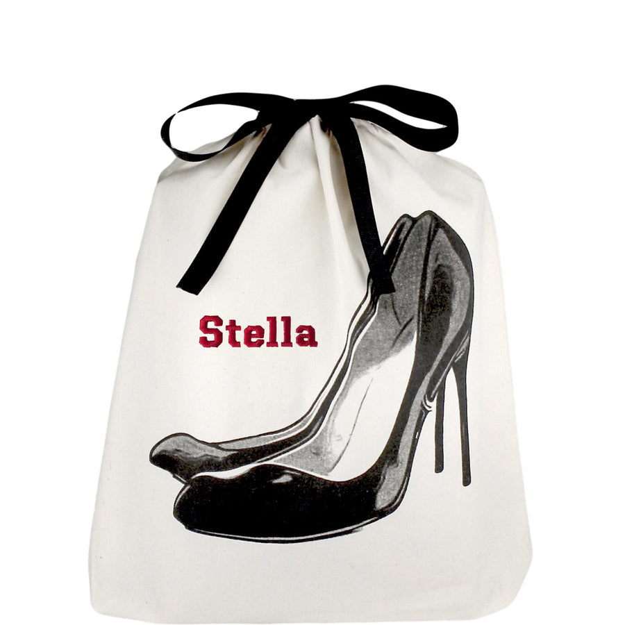 Black Pumps Shoe Bag - bag-all-australia