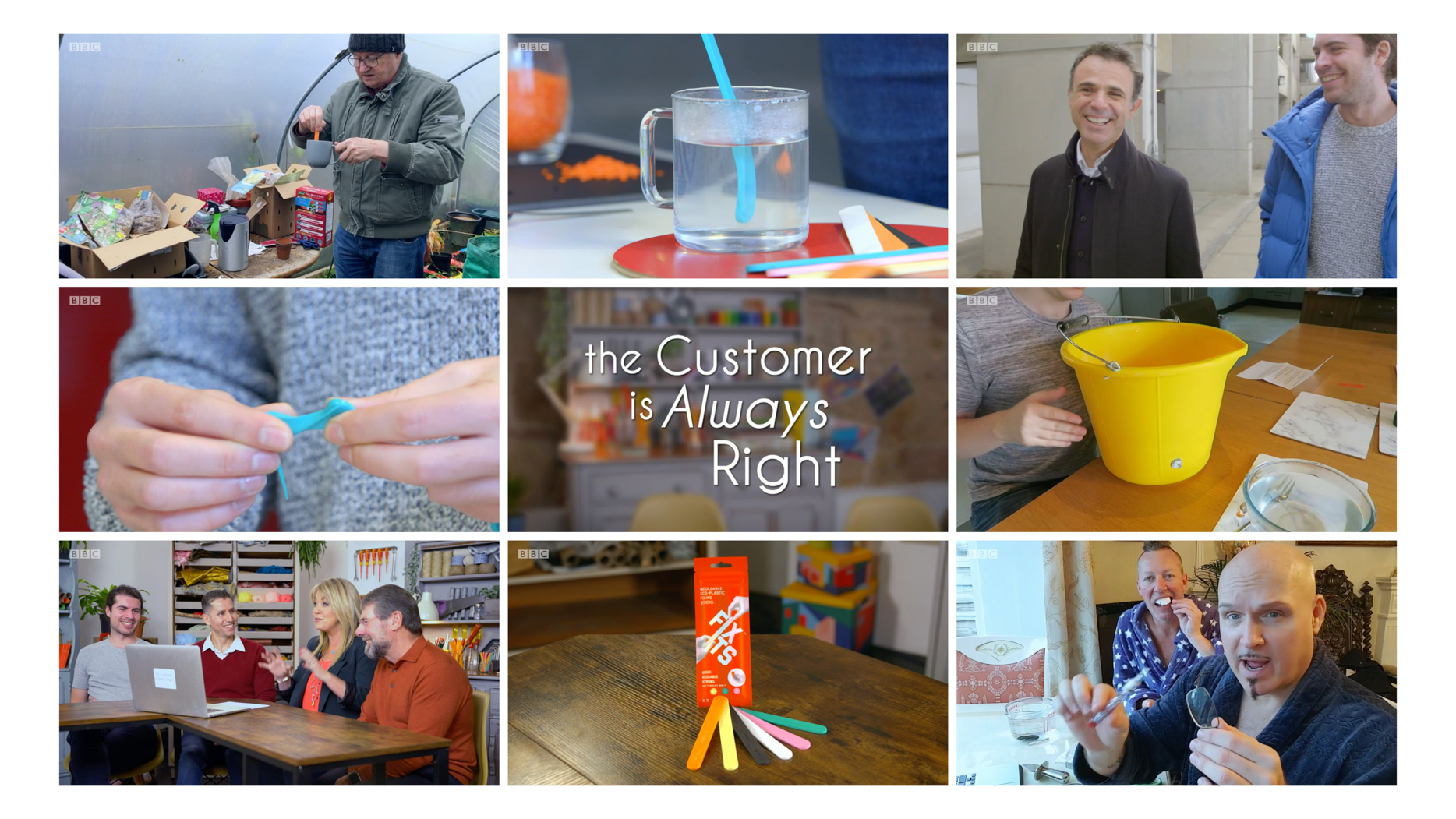 "FixIts on BBC One's ""The customer is always right"""