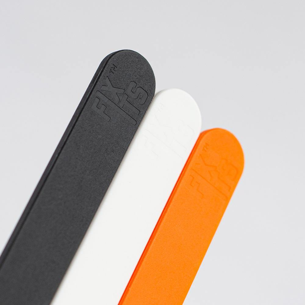 FixIts pack of 3 - Black, White, Orange