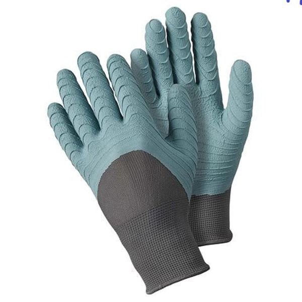 Briers All Seasons Gardener Gloves, Size Large, Light Blue Colour - Gardening Requisites