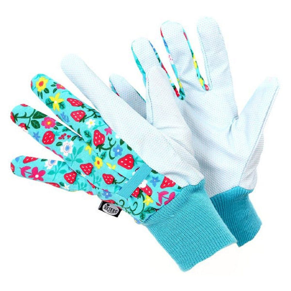 Briers Strawberry water repellent glove, size medium - Gardening Requisites